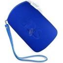 Měkké ochranné pouzdro Soft Cloth Pouch pro Nintendo DS Lite, modré