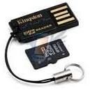 Mobilní čtečka micro SD karet + 4 GB