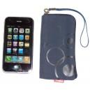 Dámské pouzdro Royal na zip pro iPhone 3G, tmavě modré
