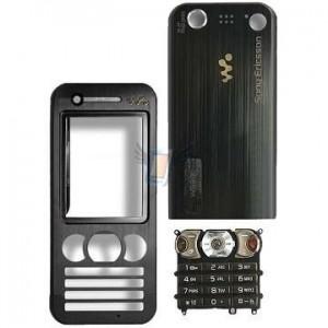 Kompletní housing pro Sony Ericsson W890, černý