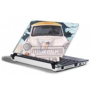 Polepová ochranná fólie SkinWard pro notebooky s 15,4'' širokoúhlým displejem, motiv Trabant