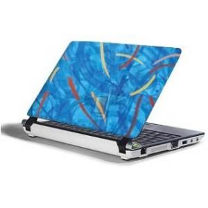Polepová ochranná fólie SkinWard pro notebooky s 15,4'' širokoúhlým displejem, motiv Modrý potisk