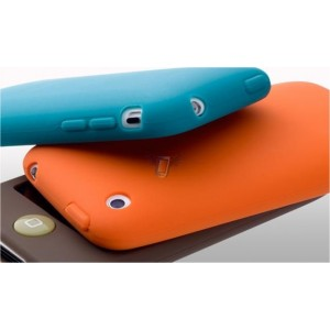 Silikonové pouzdro S01 pro Apple iPhone 3G, červené