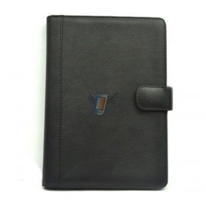 Kožené pouzdro pro eBook, černé