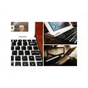 Hliníkový kryt pro iPad 2 s bluetooth klávesnicí