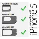 Nano Micro SIM adaptér pro iPhone 5