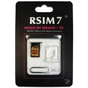 Unlock Rsim 7 karta pro iPhone 5/4s s iOS6