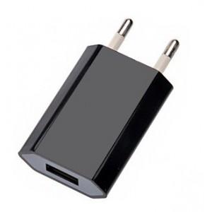 Síťová USB nabíječka pro iPhone 4, černá