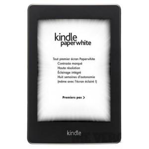 Kožené pouzdro pro Amazon Kindle Paperwhite, černé