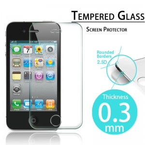 Tempered Glass Protector 0.3mm pro iPhone 5/5S/5C