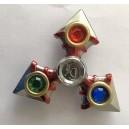 Fidget Spinner kovový kompas