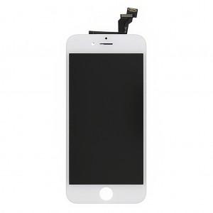 LCD displej s předním dotykovým sklem pro Apple iPhone 6 Plus, bílý