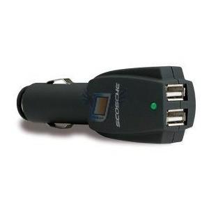 Nabíječka do auta s 2x USB výstupy